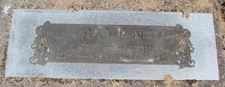 BORN, EMIL - Polk County, Oregon | EMIL BORN - Oregon Gravestone Photos