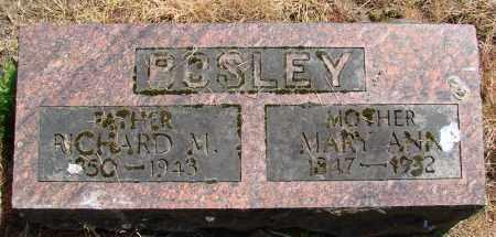 BOSLEY, RICHARD MILTON - Polk County, Oregon | RICHARD MILTON BOSLEY - Oregon Gravestone Photos