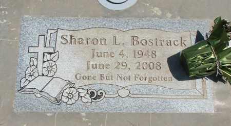 BOSTRACK, SHARON L - Polk County, Oregon   SHARON L BOSTRACK - Oregon Gravestone Photos