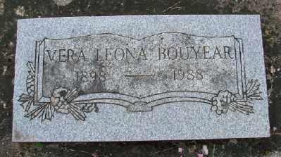 BOUYEAR, VERA LEONA - Polk County, Oregon | VERA LEONA BOUYEAR - Oregon Gravestone Photos