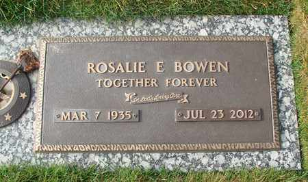 BOWEN, ROSALIE E - Polk County, Oregon | ROSALIE E BOWEN - Oregon Gravestone Photos