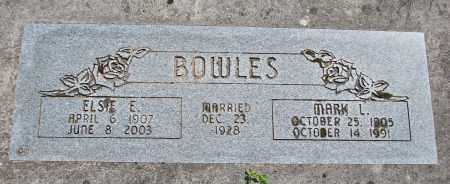 BOWLES, ELSIE E - Polk County, Oregon | ELSIE E BOWLES - Oregon Gravestone Photos