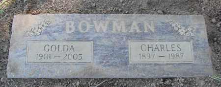 BOWMAN, GOLDA - Polk County, Oregon   GOLDA BOWMAN - Oregon Gravestone Photos