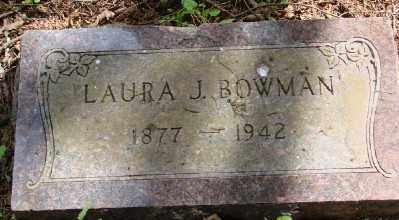 BOWMAN, LAURA J - Polk County, Oregon | LAURA J BOWMAN - Oregon Gravestone Photos