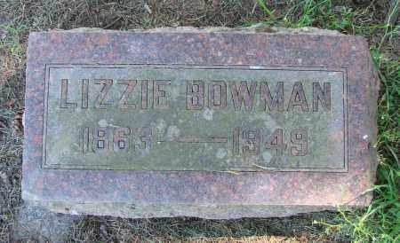 BOWMAN, LIZZIE - Polk County, Oregon | LIZZIE BOWMAN - Oregon Gravestone Photos