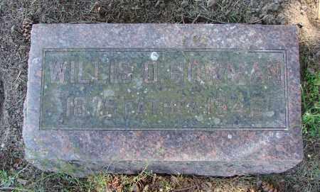 BOWMAN, WILLIS O - Polk County, Oregon | WILLIS O BOWMAN - Oregon Gravestone Photos
