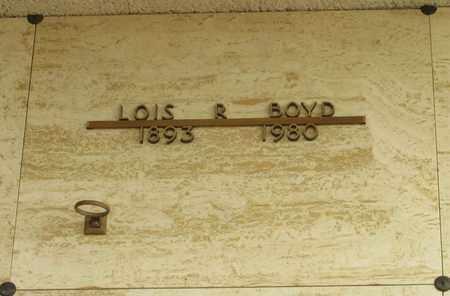 BOYD, LOIS R - Polk County, Oregon | LOIS R BOYD - Oregon Gravestone Photos