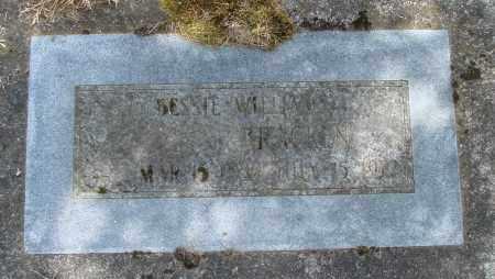 BRACKEN, BESSIE - Polk County, Oregon   BESSIE BRACKEN - Oregon Gravestone Photos