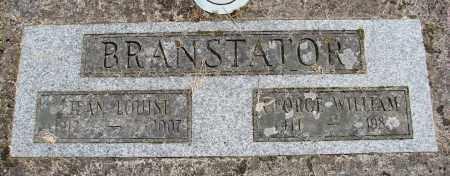 BRANSTATOR, JEAN LOUISE - Polk County, Oregon | JEAN LOUISE BRANSTATOR - Oregon Gravestone Photos