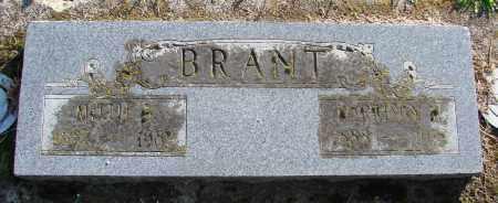 BRANT, MILLIE B - Polk County, Oregon | MILLIE B BRANT - Oregon Gravestone Photos