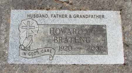 BRATENG, HOWARD W - Polk County, Oregon | HOWARD W BRATENG - Oregon Gravestone Photos