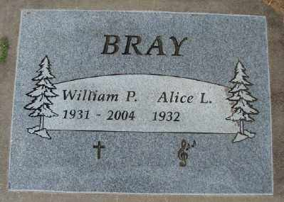 BRAY, ALICE L - Polk County, Oregon   ALICE L BRAY - Oregon Gravestone Photos
