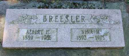 BREESLER, NINA MINNIE - Polk County, Oregon | NINA MINNIE BREESLER - Oregon Gravestone Photos