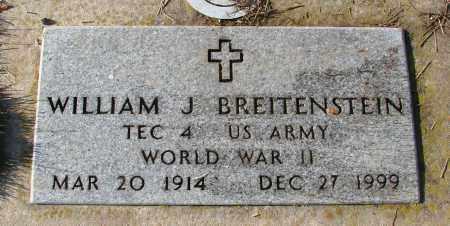 BREITENSTEIN (WWII), WILLIAM J - Polk County, Oregon | WILLIAM J BREITENSTEIN (WWII) - Oregon Gravestone Photos