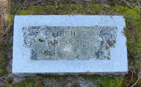 BRESSLER, HUGH - Polk County, Oregon | HUGH BRESSLER - Oregon Gravestone Photos