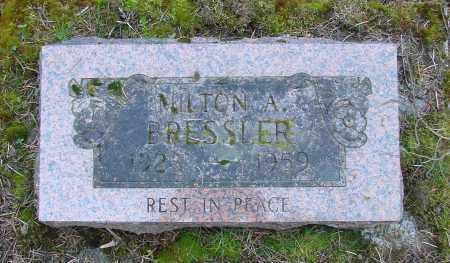 BRESSLER, MILTON - Polk County, Oregon | MILTON BRESSLER - Oregon Gravestone Photos