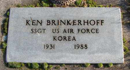 BRINKERHOFF (KOR), KEN - Polk County, Oregon | KEN BRINKERHOFF (KOR) - Oregon Gravestone Photos