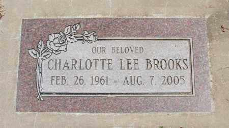 BROOKS, CHARLOTTE LEE - Polk County, Oregon | CHARLOTTE LEE BROOKS - Oregon Gravestone Photos