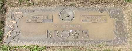 BROWN, ALTHA W - Polk County, Oregon | ALTHA W BROWN - Oregon Gravestone Photos