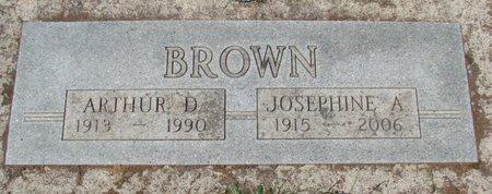 BROWN, JOSEPHINE A - Polk County, Oregon | JOSEPHINE A BROWN - Oregon Gravestone Photos