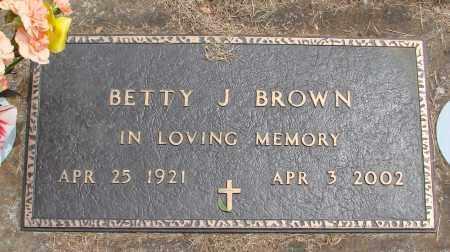 BROWN, BETTY J - Polk County, Oregon   BETTY J BROWN - Oregon Gravestone Photos