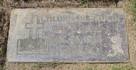 BROWN, CHLORIS M - Polk County, Oregon | CHLORIS M BROWN - Oregon Gravestone Photos