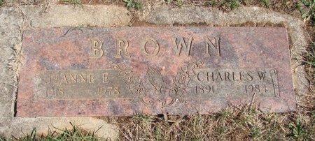 BROWN, CHARLES W - Polk County, Oregon   CHARLES W BROWN - Oregon Gravestone Photos
