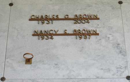 BROWN, NANCY E - Polk County, Oregon | NANCY E BROWN - Oregon Gravestone Photos