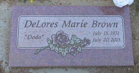 BROWN, DELORES MARIE - Polk County, Oregon | DELORES MARIE BROWN - Oregon Gravestone Photos