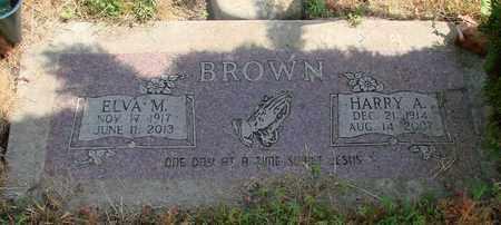 BROWN, ELVA M - Polk County, Oregon | ELVA M BROWN - Oregon Gravestone Photos