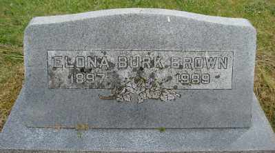 CLANFIELD BROWN, ELONA - Polk County, Oregon | ELONA CLANFIELD BROWN - Oregon Gravestone Photos