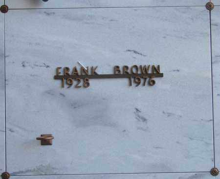 BROWN, FRANK A - Polk County, Oregon | FRANK A BROWN - Oregon Gravestone Photos
