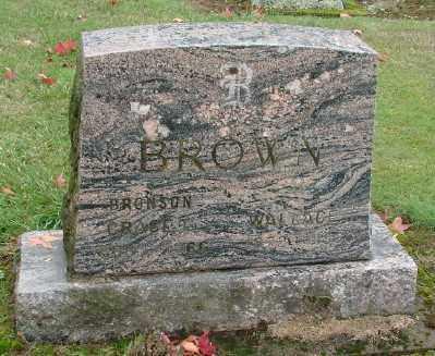 BROWN, GRACE - Polk County, Oregon | GRACE BROWN - Oregon Gravestone Photos
