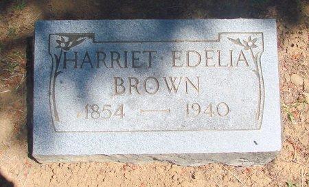 BROWN, HARRIET EDELIA - Polk County, Oregon   HARRIET EDELIA BROWN - Oregon Gravestone Photos