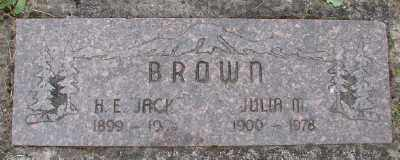 BROWN, H E - Polk County, Oregon | H E BROWN - Oregon Gravestone Photos