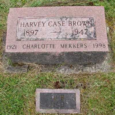 BROWN, HARVEY CASE - Polk County, Oregon | HARVEY CASE BROWN - Oregon Gravestone Photos
