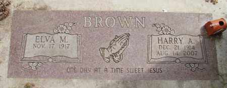 BROWN, HARRY A - Polk County, Oregon | HARRY A BROWN - Oregon Gravestone Photos