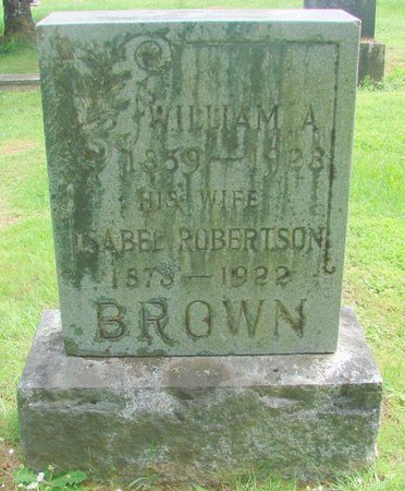 BROWN, WILLIAM A - Polk County, Oregon | WILLIAM A BROWN - Oregon Gravestone Photos
