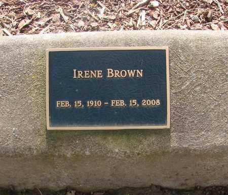 BROWN, IRENE - Polk County, Oregon | IRENE BROWN - Oregon Gravestone Photos