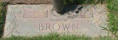 BROWN, JANE ROBERTA - Polk County, Oregon | JANE ROBERTA BROWN - Oregon Gravestone Photos
