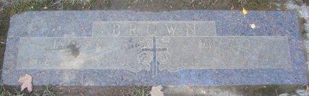 BROWN, JAMES CALVIN - Polk County, Oregon | JAMES CALVIN BROWN - Oregon Gravestone Photos