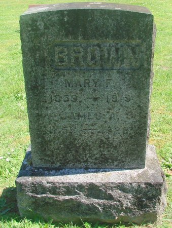 BROWN, MARY FANNIE - Polk County, Oregon | MARY FANNIE BROWN - Oregon Gravestone Photos