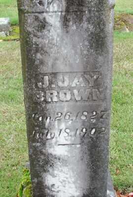 BROWN, J JAY - Polk County, Oregon | J JAY BROWN - Oregon Gravestone Photos