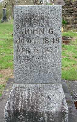 BROWN, JOHN G - Polk County, Oregon | JOHN G BROWN - Oregon Gravestone Photos