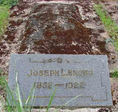 BROWN, JOSEPH L - Polk County, Oregon | JOSEPH L BROWN - Oregon Gravestone Photos