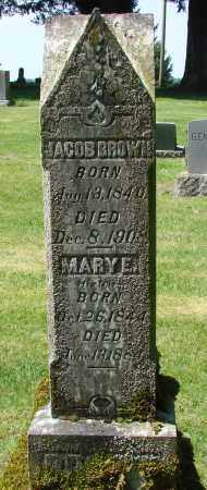 BROWN, MARY E - Polk County, Oregon   MARY E BROWN - Oregon Gravestone Photos