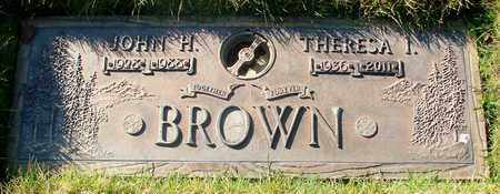 BROWN, THERESA IRENE - Polk County, Oregon | THERESA IRENE BROWN - Oregon Gravestone Photos