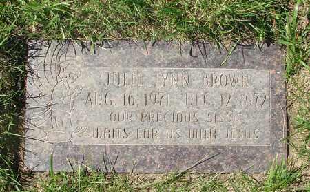 BROWN, JULIE LYNN - Polk County, Oregon   JULIE LYNN BROWN - Oregon Gravestone Photos