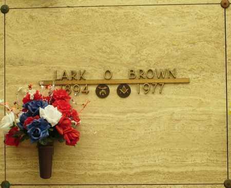 BROWN, LARK O - Polk County, Oregon   LARK O BROWN - Oregon Gravestone Photos