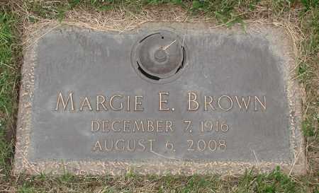 BROWN, MARGE EYLEEN - Polk County, Oregon   MARGE EYLEEN BROWN - Oregon Gravestone Photos